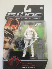 "G I JOE STORM SHADOW "" Paris Pursuit ""  Action Figure 3.75"""
