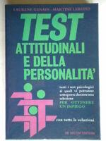 Test attitudinali e della personalitàGenain Lerond psicologicipsicologia 50