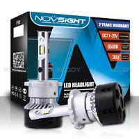 Novsight Pair D1 D2 D3 D4 S/R 10000LM LED Headlight Kit Light Bulbs 6500K White