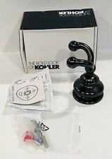 Kohler 12153-2Bz Fairfax Double Robe Hook, Oil-Rubbed Bronze Finish