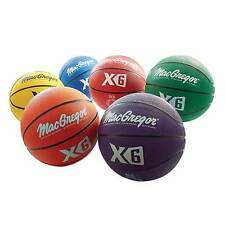 "MacGregor® Indoor/Outdoor Official Size (29.5"") Basketballs - Set of 6"