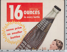 C526 Lotta Cola soda bottle store counter sign soft drink late 1940's soda pop