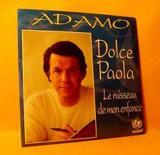 Cardsleeve Single CD ADAMO Dolce Paola 2TR 1993 chanson