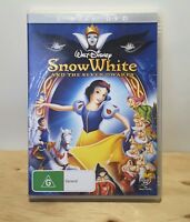 Snow White And The Seven Dwarfs (1937 Disney Movie) DVD 2 DISC SET - REGION 4