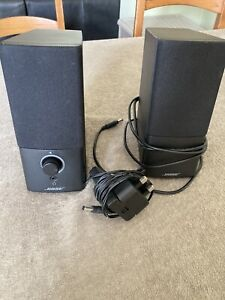 BOSE COMPANION 2 SERIES III MULTIMEDIA SPEAKER SYSTEM AWESOME LOOK