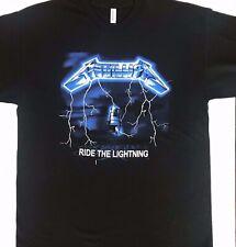 Metallica Ride The Lightning Band T-Shirt Rock Punk Alternative