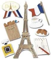 Jolee's Boutique Dimensional Stickers Paris 015586553352