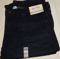 Jeans Denim Faded Glory 40x30 Straight Fit Dark Wash Blue Vintage Color Mens New