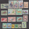 Lot  of Laos Topical Stamps, Mint Never Hinged (MNH), Mostly Nicely Engraved