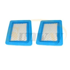 2× Air Filter For SP533 SP536 SP504 S461 HP474 SP474 118550257/0 Mountfield RM45