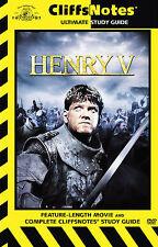 Henry V (DVD, 2007, Cliff Notes)