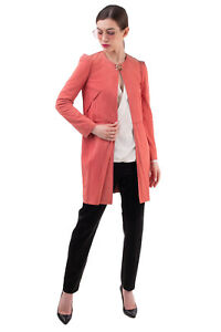 RRP €945 ROBERTO CAVALLI CLASS Suede Leather Jacket Size 38 / XS Exposed Seams