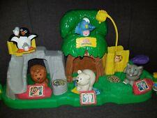 Fisher Price Little People Zoo mit Tiergeräusche Kassenhaus Haus Tieren Figur