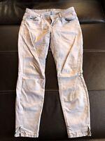 7/8 Jeans Soccx grau hellgrau Gr. 31