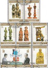 Sao Tome e príncipe 703A-710A (edición completa) usado 1981 ajedrez-WM