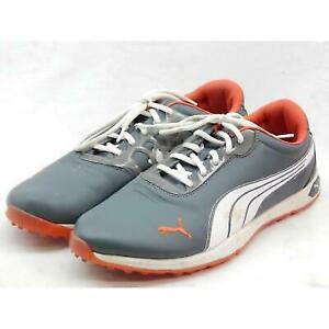 Puma Titanlite Men's White/Black/Orange Sneaker 13M