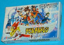 Shin Megami Tensei Devil Children Book of Light Game Boy Advance GBA JAP Japan