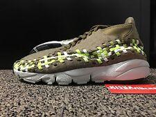 Nike Air Footscape Woven Chukka 443686 203 10 rainbow leopard black
