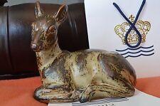 Big Royal Copenhagen Figurine Stoneware Deer Knud Kyhn Figur 20506