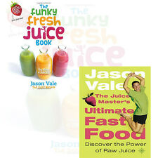 Diet Collection 2 Books Set(The Juice Master's Ultimate Fast Food) By jason vale