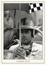 Sir Jack Brabham Vintage Photograph