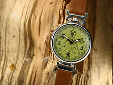 Masonic watch Molnija USSR. Soviet mens watch, wrist watch cal.3602