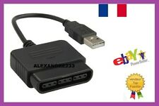 Adaptateur USB 1 Manette PSX PS1 PS2 pour PC PS3 Adapter PlayStation Conect