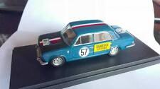 FIAT 124 BERLINA N°57 RALLY S.MARTINO DI CASTROZZA 1967  GAMMA BUILT UP1/43