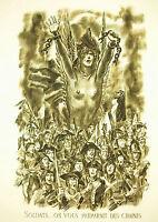 Napoleon Bonaparte Soldiers on You Préparait of Chains Speeches 9 1797 Decaris