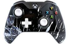 """""""Black Knight"""" Xbox One S Custom UN-MODDED Controller Unique Exclusive Design"""
