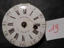Mouvement Montre a Coq XVIII Hardel a Paris diam cadran 39mm  n19