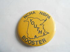 Cool Vintage NCHS Campers & Hikers Association NBPA Booster Member Pinback