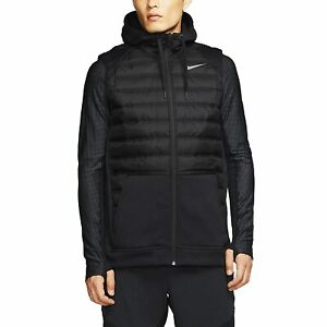 Nike Therma Winterized Full Zip Hood Vest Black (BV4534-011) Men's 2XL NWT New⭐️