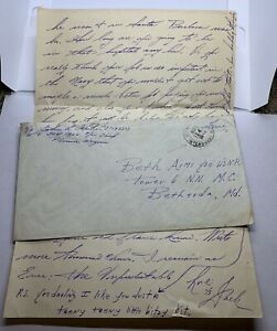 1944 PHOENIX ARIZONA JAPANESE INTERNMENT COVER WITH LETTER TO BETHESDA MARYLAND