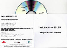CD PLASTIC SLEEVE COLLECTOR WILLIAM SHELLER PIANO EN VILLE 2T MON DIEU QUE ...