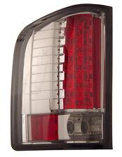 Chevy Silverado 07-13 LED Tail Lights Smoke