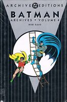 Batman in Detective Golden Age Archives Vol. 4 by Bob Kane, Bill Finger 1998 HC