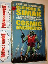 simak - COSMIC ENGINEERS - paperback library books - sf in inglese (6°)