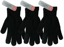 1-3 Pairs Mens Womens Black Magic Warm Stretch Winter Thermal Gloves UK