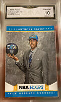Hot 2012 Panini NBA Hoops Anthony Davis Rookie Gem Mint 10 LA Lakers All Star RC