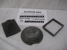 97-02 Jeep TJ Wrangler Upper & Lower Shifter Boot Kit 52078970AC 52078558
