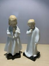 """Royal Doulton figurines """"Darling� And """"Bedtime�. Perfect Condition"""
