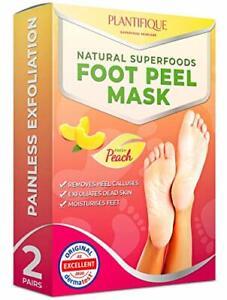 Foot Peel Mask Baby Soft Feet Calluses Dead & Dry Skin Cracked Heel Repair 2Pair