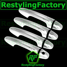 2013-2015 Toyota RAV4 Triple Chrome plated 4 Door Handle Cover Kit 15