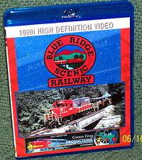 "20119 BLU-RAY HD TRAIN VIDEO ""BLUE RIDGE SCENIC RAILROAD"""