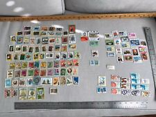 Vintage Postage Stamp Lot From Mexico, Central & South America