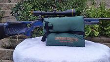 Green Shooting Gun Rifle Bag Rest Unfilled Straight Shooter Bench Rest Rifle Bag