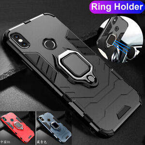 Hybrid Armor Case for Xiaomi Redmi Note 7 6 5 Pro/F1 Magnetic Ring Holder Cover