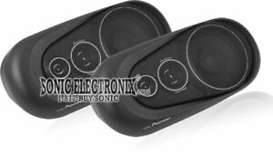 "Pioneer TS-X150 120W 3-Way 5-1/4"" Surface Mount Car Speakers"