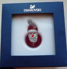 New Swarovski Red Rocking Santa retired 2015 MIB 1143323